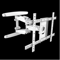 Fits LG TV model OLED65C9PLA White Swivel & Tilt TV Bracket