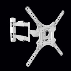 Fits LG TV model 49LK5100PLA White Swivel & Tilt TV Bracket