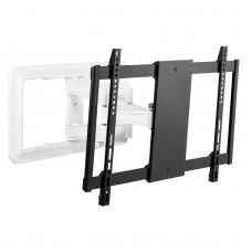 Fits LG TV model 49UF695V White/Black Swivel & Tilt TV Bracket
