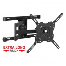 Fits LG TV model OLED55C9PLA Black Swivel & Tilt TV Bracket